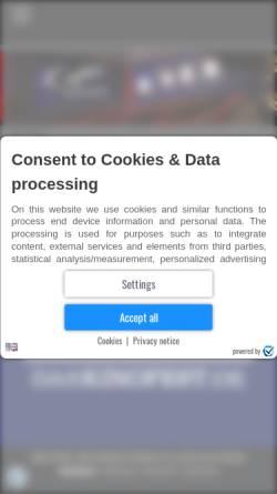 Vorschau der mobilen Webseite capitol-kinocenter.de, Capitol Kino Ansbach