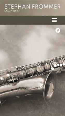 Vorschau der mobilen Webseite www.poweroffunk.ch, Power of Funk
