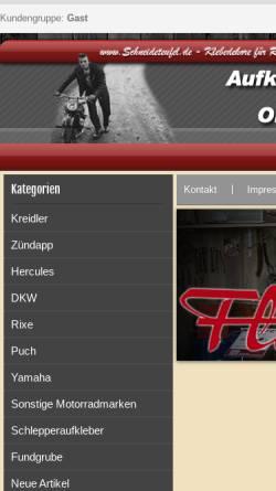 Vorschau der mobilen Webseite schneideteufel.de, Schneideteufel.de