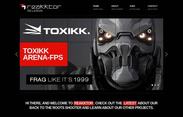 Vorschau von www.reakktor.com, Reakktor Media GmbH