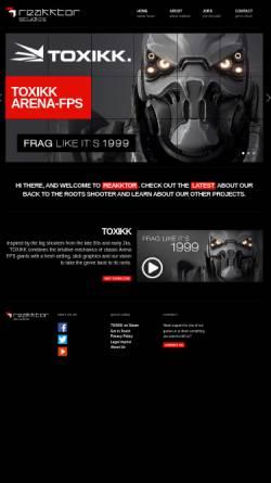 Vorschau der mobilen Webseite www.reakktor.com, Reakktor Media GmbH