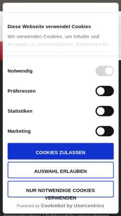 Vorschau der mobilen Webseite www.mbr-sittensen.de, MBR Viehhandels Union GmbH & Co.
