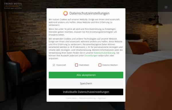 Vorschau von www.trend-hotel-oldenburg.de, Trend Hotel Oldenburg