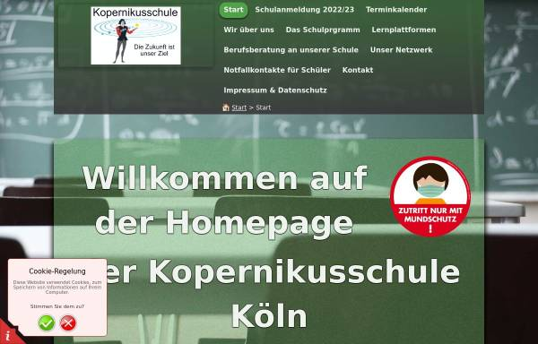 Vorschau von www.kopernikushs-koeln.de, Kopernikusschule
