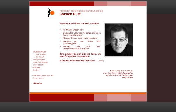Vorschau von www.musiktherapie-osnabrueck.de, Praxis für Musiktherapie und Coaching Carsten Rust
