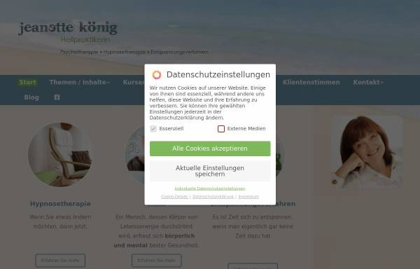 Vorschau von autogenes-training-duesseldorf.de, Jeanette König Gymnastiklehrerin / Entspannungspädagogin