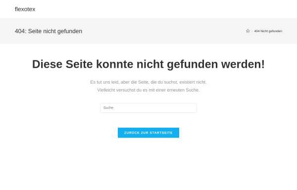 Vorschau von www.flexotex.de, Flexotex Inh. Olaf Schiedel