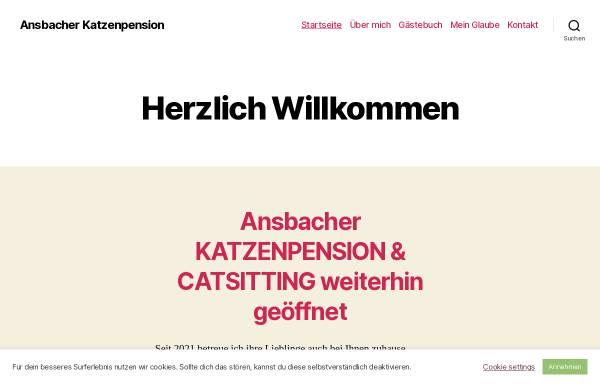 Vorschau von katzenpension24.com, Ansbacher Katzenpension, Catsitting Ansbach