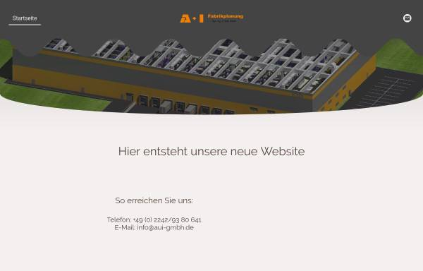 Vorschau von www.aui-gmbh.de, A+I Dipl.-Ing. J.Höller und Partner GmbH