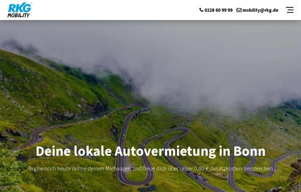 Vorschau von www.rkg-powerrent.de, Autovermietung RKG Power Rent