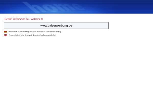 Vorschau von www.balzerwerbung.de, Balzer Werbung GmbH