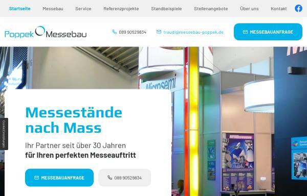 Vorschau von www.messebau-poppek.de, Poppek Messebau GmbH