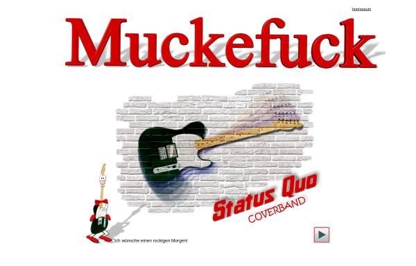 Vorschau von www.muckefuck-band-berlin.com, Muckefuck Band Berlin