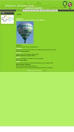 Vorschau der mobilen Webseite www.blaserballon.ch, Ballon-Team Blaser