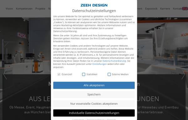 Zeeh Design zeeh design gmbh in puchheim messebau messen und kongresse zeeh