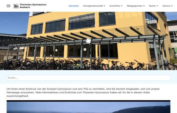 Vorschau von www.thg-ansbach.de, Theresien-Gymnasium Ansbach