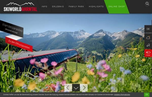 Vorschau von www.skiworldahrntal.it, Skigebiet Speikboden