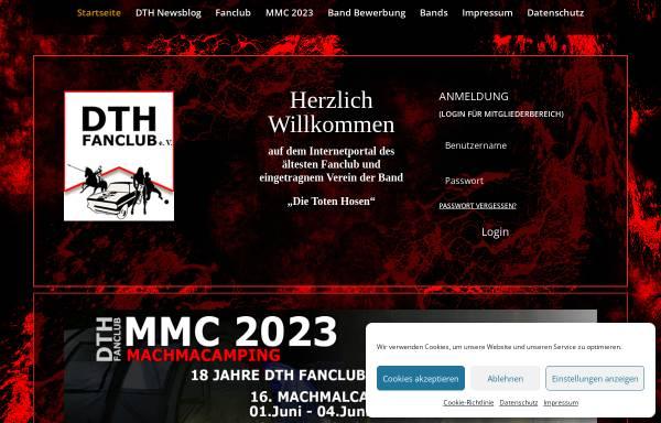Vorschau von www.dth-fans.de, DTH-Fans