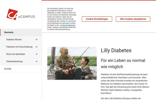 Vorschau von www.lilly-diabetes.de, Lilly Diabetes