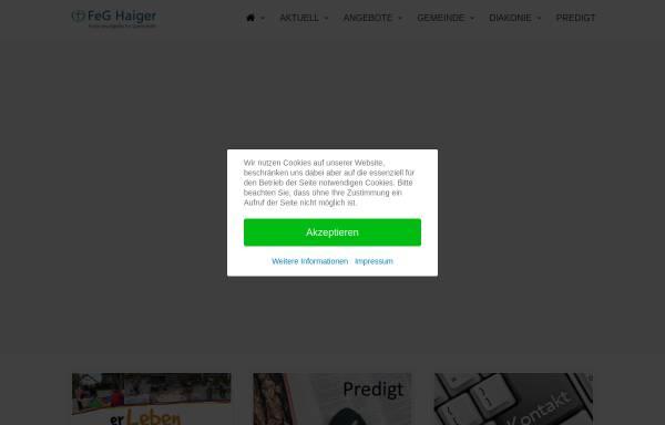 Vorschau von haiger.feg.de, Freie evangelische Gemeinde Haiger