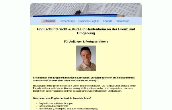 Vorschau von www.englischunterricht-heidenheim.de, Englischunterricht Heidenheim, Inh. Bernd Kapori