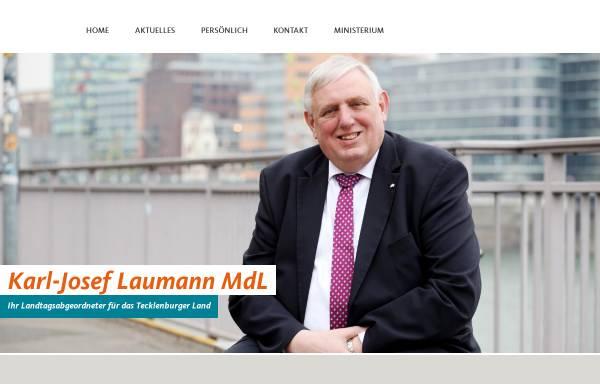 Vorschau von www.karl-josef-laumann.de, Laumann, Karl-Josef (MdL)