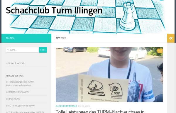 Vorschau von www.sc-turm-illingen.de, SC Turm Illingen