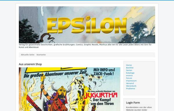 Vorschau von www.epsilongrafix.de, Epsilon Verlag