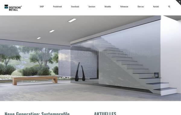 Vorschau von www.deutschemetall.com, DeutscheMetall GmbH