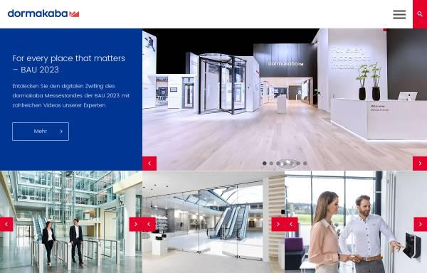 Vorschau von www.dormakaba.com, Kaba GmbH