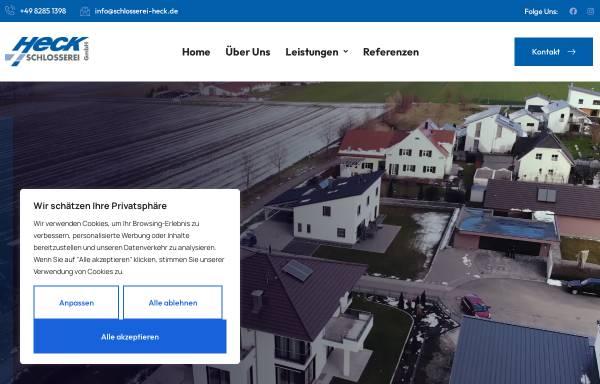 Vorschau von www.schlosserei-heck.de, Klaus Heck GmbH
