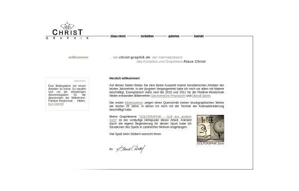 Vorschau von christ-graphik.de, Christ, Klaus