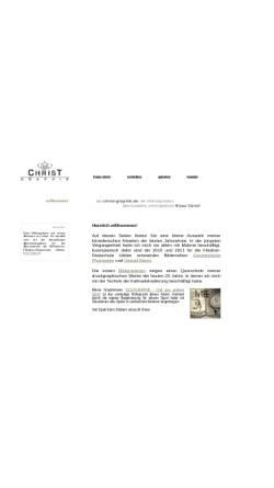 Vorschau der mobilen Webseite christ-graphik.de, Christ, Klaus