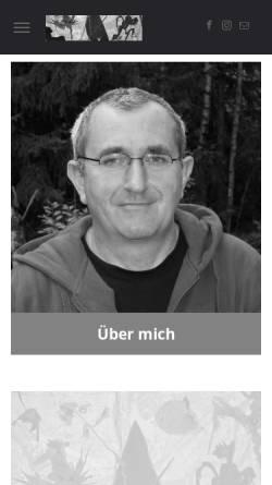 Vorschau der mobilen Webseite www.norbert-closs.de, Cloß, Norbert