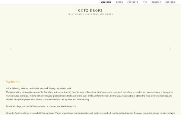 Vorschau von www.goetz-drope.de, Drope, Götz