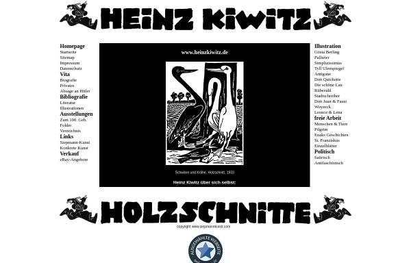 Vorschau von www.heinzkiwitz.de, Kiwitz, Heinz