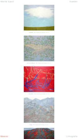 Vorschau der mobilen Webseite www.marita-kusch.de, Kusch, Marita