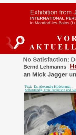 Vorschau der mobilen Webseite www.bernd-lehmann.de, Lehmann, Bernd