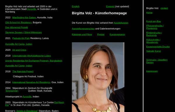 Vorschau von www.birgittavolz.de, Volz, Birgitta