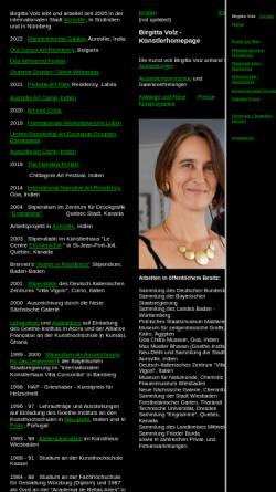 Vorschau der mobilen Webseite www.birgittavolz.de, Volz, Birgitta