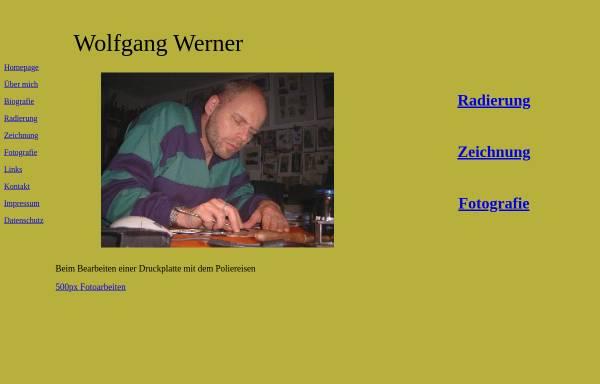 Vorschau von druckgrafik-wolfgang-werner.de, Werner, Wolfgang