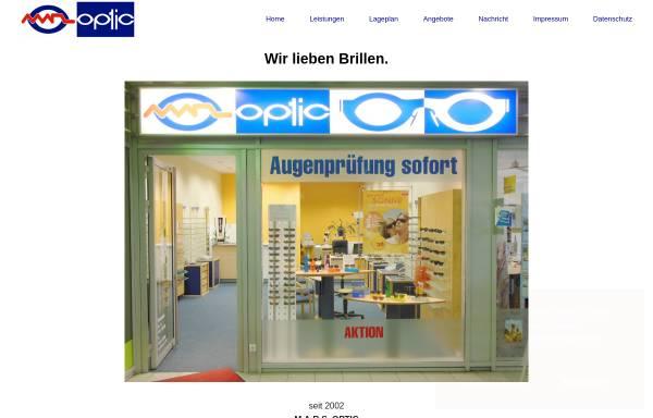 Vorschau von www.marsoptic.de, M.A.R.S. Optic G.b.R.