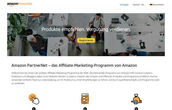vorschau von partnernetamazonde amazonde - Amazon Online Bewerbung