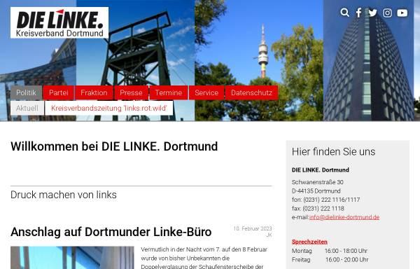 Vorschau von www.dielinke-dortmund.de, Die Linke. Kreisverband Dortmund