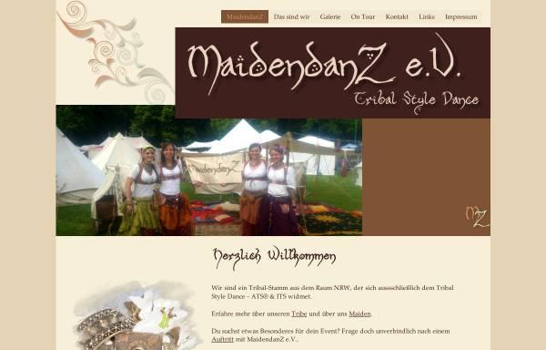 Vorschau von www.maidendanz.de, Maidendanz