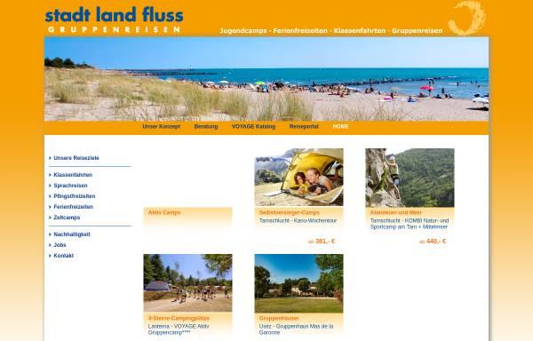 Vorschau von www.stadtlandfluss.de, Stadt land fluss Gruppen- und Studienreisen GmbH