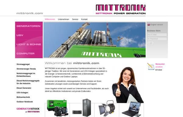 Vorschau von mittronik.com, MITTRONIK GmbH