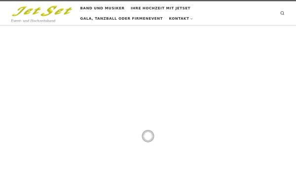 Vorschau von www.band-jetset.de, JET SET