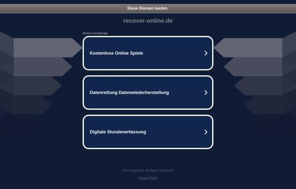 Vorschau von www.recover-online.de, Recover