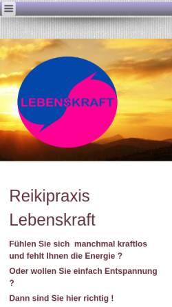 Vorschau der mobilen Webseite www.ah-reiki.de, André Hartmann